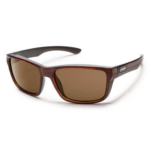 S-MAPPBRBR: Smith Suncloud Mayor Polarized Sunglasses -Burnished BRN/BRN